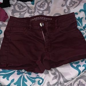 High Rise american eagle shorts